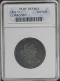 1802 1C --Corroded-- ANACS. VF20 Details. NGC Census: (60/242). PCGS Population (27/193). Mintage: 3,435,100. Numismedia...