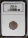 1883 1C MS65 Red and Brown NGC. NGC Census: (91/20). PCGS Population (36/1). Mintage: 45,598,108. Numismedia Wsl. Price:...