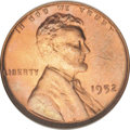 Lincoln Cents: , 1952 1C MS67 Red NGC. NGC Census: (42/0). PCGS Population (8/0).Mintage: 186,856,976. (#2797)...