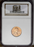 1955 1C MS67 Red NGC. NGC Census: (32/1). PCGS Population (11/0). Mintage: 330,958,208. (#2824)...(PCGS# 2824)