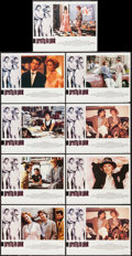 """Movie Posters:Comedy, Pretty in Pink (Paramount, 1986). British Lobby Card Set of 9 (11"""" X 14""""). Comedy.. ... (Total: 9 Items)"""