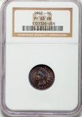 Proof Indian Cents: , 1902 1C PR65 Red and Brown NGC. NGC Census: (55/20). PCGS Population (59/31). Mintage: 2,018. Numismedia Wsl. Price for pro...