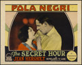 "Movie Posters:Drama, The Secret Hour (Paramount, 1928). Lobby Card (11"" X 14""). Drama....."