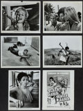 "Movie Posters:Sexploitation, Black Mama, White Mama and Others Lot (American International,1972). Photos (20) (8"" X 10""). Sexploitation.. ... (Total: 20Items)"
