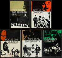 """Focus On... Series & Others Lot (Prentice-Hall, Inc., 1971-1972). Hard Cover Books (7) (Multiple Pages, 6.25"""" X..."""