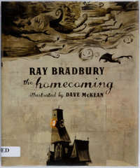 Ray Bradbury. SIGNED. The Homecoming. Collins Design, 2006. First edition. Signed by