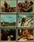 "Movie Posters:Adventure, Moby Dick (Warner Brothers, 1956). Color Photo Set of 12 (8"" X10""). Adventure.. ... (Total: 12 Items)"