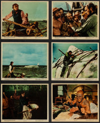 """Moby Dick (Warner Brothers, 1956). Color Photo Set of 12 (8"""" X 10""""). Adventure. ... (Total: 12 Items)"""