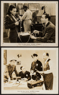 """Mystery in Swing (International Road Shows, 1940). Photos (2) (8"""" X 10""""). Black Films. ... (Total: 2 Items)"""