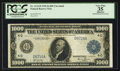 Large Size:Federal Reserve Notes, Fr. 1133-D $1,000 1918 Federal Reserve Note PCGS Apparent Very Fine 35.. ...
