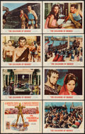 "Movie Posters:Adventure, The Colossus of Rhodes (MGM, 1961). Lobby Card Set of 8 (11"" X14""). Adventure.. ... (Total: 8 Items)"
