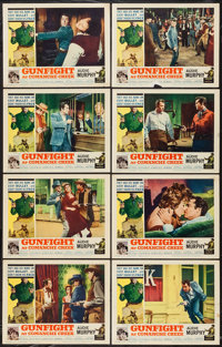 """Gunfight at Comanche Creek & Other Lot (Allied Artists, 1963). Lobby Card Sets of 8 (2) (11"""" X 14""""). Weste..."""