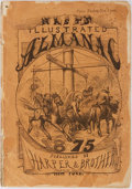Books:Americana & American History, [Americana] Nast's Illustrated Almanac 1875. Harper &Brothers, [1874]. Illustrated. Publisher's original pictor...