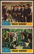 "Movie Posters:Western, The Night Riders (Republic, 1939). Lobby Cards (2) (11"" X 14""). Western.. ... (Total: 2 Items)"
