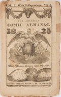 Books:Americana & American History, [Americana] The American Comic Almanac 1835. Charles Ellms,[1834]. Illustrated. Publisher's printed wrappers. S...