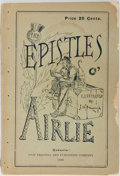 Books:Americana & American History, [Americana] [Jessie Kerr Lawson and John Wilson Bengough] TheEpistles of Hugh Airlie. Grip Printing and Publish...