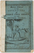 Books:Americana & American History, [Americana] [Anonymous]. Marks's Edition of the Adventures ofGoody Two Shoes and Her Brother Thomas. J. L. Mark...