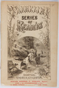 Books:Americana & American History, [Americana] [George H. Hilliard] The Franklin Series ofReaders. Brewer & Tileston, [no date, circa 1877?]. Adve...