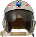 Football Collectibles:Helmets, 1950's-60's Doc Blanchard United States Air Force Fighter Pilot Helmet - Worn in Korean and Vietnam Wars....