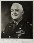 """Autographs:Military Figures, Henry H. """"Hap"""" Arnold Inscribed Photograph Signed...."""