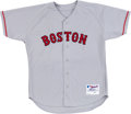 Baseball Collectibles:Uniforms, 2004 Bronson Arroyo Game Worn Boston Red Sox Jersey. ...
