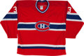 Hockey Collectibles:Uniforms, Patrick Roy Signed Montreal Canadiens Jersey....