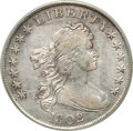 Early Dollars, 1802 $1 Narrow Date VF35 PCGS. B-6, BB-241, R.1....