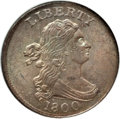Half Cents, 1800 1/2 C MS63 Brown NGC. C-1, B-1, R.1....