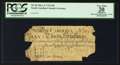 Colonial Notes:North Carolina, Serial Number 999 North Carolina March 9, 1754 30s PCGS ApparentVery Fine 20.. ...