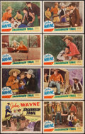 "Movie Posters:Western, Sagebrush Trail (Lone Star, R-1943). Lobby Card Set of 8 (11"" X 14""). Western.. ... (Total: 8 Items)"