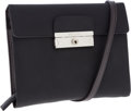 Luxury Accessories:Bags, Prada Black Vela Nylon Crossbody Bag with Zipper Wallet Interior....