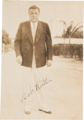 Autographs:Photos, Early 1930's Babe Ruth Signed Photograph....