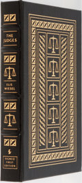 Books:Literature 1900-up, Elie Wiesel. SIGNED/LIMITED. The Judges. Easton Press, 2002.First edition, first printing. Limited to 1250 number...