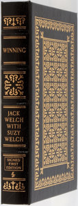 Books:Business & Economics, Jack and Suzy Welch. SIGNED/LIMITED. Winning. Easton Press,2005. First edition, first printing. Limited to 19...