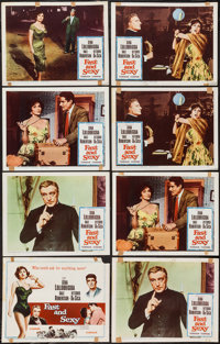 """Fast and Sexy (Columbia, 1960). Title Lobby Cards (2), Lobby Cards (7) (11"""" X 14"""") & Photo (8"""" X 10&q..."""