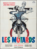 """Movie Posters:Comedy, The Motorcycle Cops (Lux Film, 1959). French Grande (47"""" X 63""""). Comedy.. ..."""