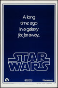 "Movie Posters:Science Fiction, Star Wars (20th Century Fox, 1977). One Sheet (27"" X 41"") TeaserStyle B. Science Fiction.. ..."