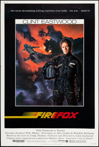 """Firefox (Warner Brothers, 1982). Poster (40"""" X 60""""). Action"""