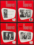 """Movie Posters:Miscellaneous, Boxoffice Magazine Lot (Associated Publications, 1950s-1960s). Magazines (14) (Multiple Pages, 9.25"""" X 12.25"""") Southwest Edi... (Total: 14 Items)"""