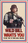 """Movie Posters:Comedy, 1941 (Universal, 1979). One Sheet (27"""" X 41"""") Wild Bill Advance. Comedy.. ..."""