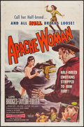 """Movie Posters:Western, Apache Woman (American Releasing Corp., 1955). One Sheet (27"""" X 41""""). Western.. ..."""