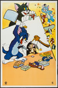 """Movie Posters:Animation, Tom and Jerry Stock and Other Lot (MGM, R-1966). Argentinean Poster (29"""" X 43""""), and Photo (8"""" X 10""""). Animation.. ... (Total: 2 Items)"""