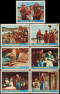 "Movie Posters:Western, Hondo (Warner Brothers, 1953). Lobby Cards (7) (11"" X 14"") 3-DStyle. Western.. ... (Total: 7 Items)"
