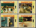 "Movie Posters:Science Fiction, The Incredible Shrinking Man (Universal International, 1957). LobbyCards (4) (11"" X 14""). Science Fiction.. ... (Total: 4 Items)"