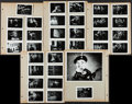 """Movie Posters:Comedy, Laurel and Hardy Lot (Various, 1930s - 1954). Frame Blowup Photos (3) (8"""" X 10"""") and (82) (3.25"""" X 4.5""""), Duplicate Negative... (Total: 104 Items)"""