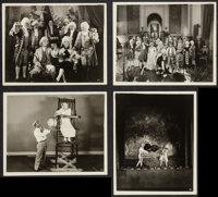 """Stan Laurel Lot (Various, 1920s-1930s). Photos (9) and One From a Duplicate Negative (8"""" X 10""""), and Arcade Ca..."""