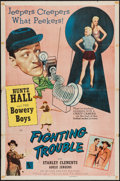 """Movie Posters:Comedy, Fighting Trouble (Allied Artists, 1956). One Sheet (27"""" X 41""""). Comedy.. ..."""