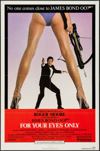 """For Your Eyes Only (United Artists, 1981). One Sheet (27"""" X 41""""). James Bond"""