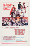 """Movie Posters:Western, The Good, the Bad and the Ugly (United Artists, 1968). One Sheet(27"""" X 41""""). Western.. ..."""