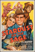 "Movie Posters:Western, Stardust on the Sage (Republic, 1942). One Sheet (27"" X 41""). Western.. ..."
